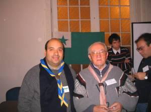 Pastro Valerio Casado dum la 7a Ĉilia Esperanto-Renkontiĝo, 2007