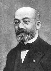 Luis Lázaro Zamenhof, el iniciador del Esperanto