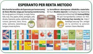 Esperanto per rekta metodo